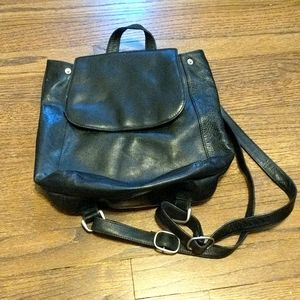 Beautiful Vintage Leather Tano knapsack